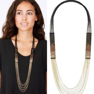 Stella & Dot Jasper necklace